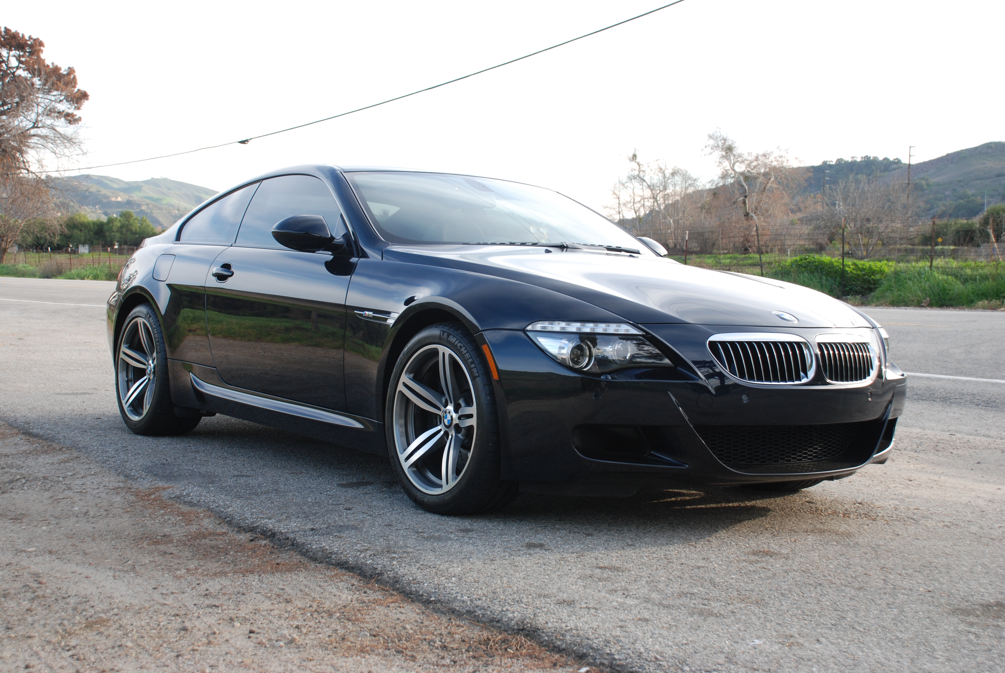 2009 bmw m6 motorsport black