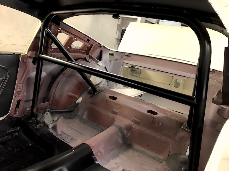 shelby mustang gt350r restoration race car